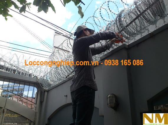 cách làm hàng rào chống trộm