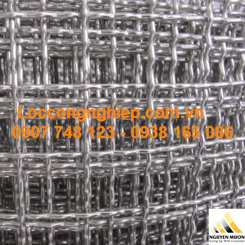 Lưới inox 201 đan ô vuông