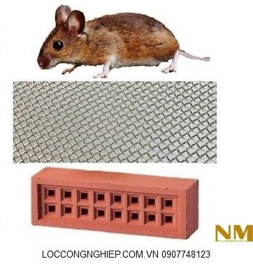 Lưới lọc inox chống chuột