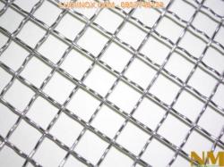 Lưới inox đan ô vuông