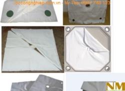 Vải lọc máy ép bùn khung bản